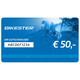 Bikester Geschenkgutschein 50 €